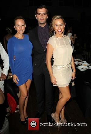 Kendra Wilkinson, Ben Decker and Jessica Hall