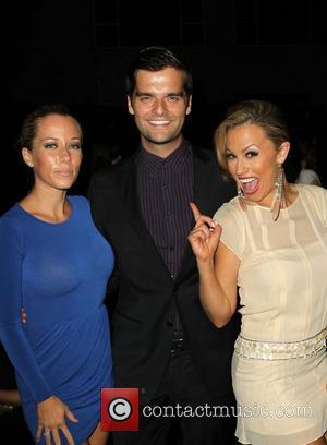 Kendra Wilkinson, Ben Decker and Jessica Hall