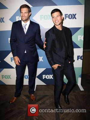 Geoff Stults and Parker Young - FOX Summer TCA 2013 All-Star Party - Arrivals - Los Angeles, California, United States...