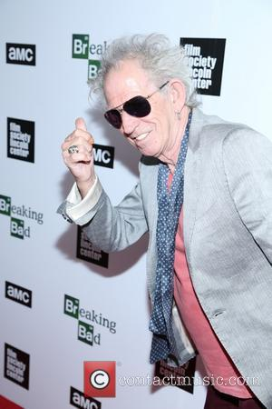 Keith Richards - The Film Society of Lincoln Center and AMC celebration of 'Breaking Bad' final episodes at The Film...