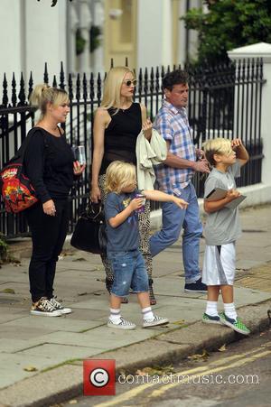 Gwen Stefani, Gavin Rossdale, Kingston and Zuma