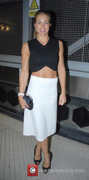 Gemma Atkinson - UFC celebrates its launch on BT Sport at Paramount bar - Arrivals - London, United Kingdom -...