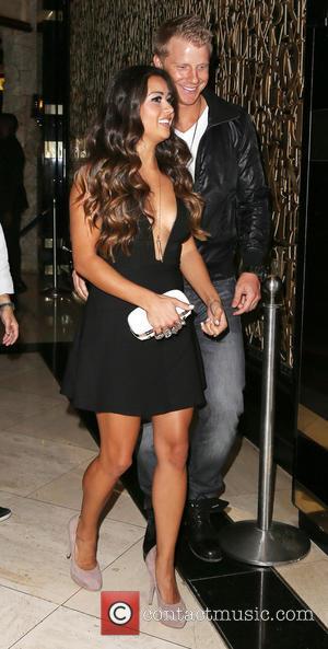 Sean Lowe and Catherine Giudici - The Bachelor's Sean Lowe hosts a Wild Friday Night at 1 Oak Nightclub inside...