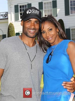 Boris Kodjoe and Holly Robinson Peete