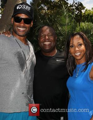 Boris Kodjoe, Rodney Peete and Holly Robinson Peete