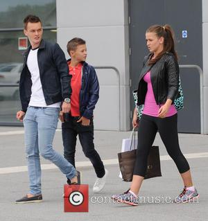 Brooke Vincent and Josh McEachran - Celebrities leaving Salford City Reds Stadium - Manchester, United Kingdom - Sunday 4th August...