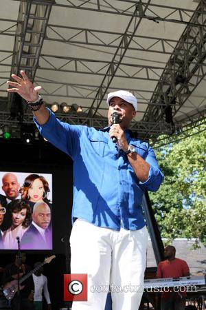 James Fortune - WLIB 6th Annual Gospel Explosion at Central Park SummeStage Featuring: Karen Clark Sheard, Donald Lawrence,Erica Campbell, Kierra...