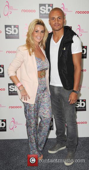 Wes Brown and Leanne Brown - Celebrities arrive at the One Goal Foundation Dinner at Saldford City Reds Stadium charity...