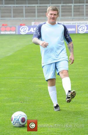 Ricky Hatton - Celebrities take part in the One Goal Foundation Football Charity Match held at Salford City Reds Stadium...