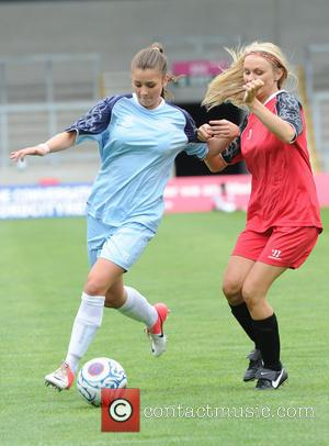 Brooke Vincent - Celebrities take part in the One Goal Foundation Football Charity Match held at Salford City Reds Stadium...