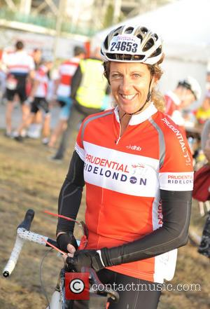 Sally Gunnell - Prudential RideLondon-Surrey 100 race - London, United Kingdom - Sunday 4th August 2013