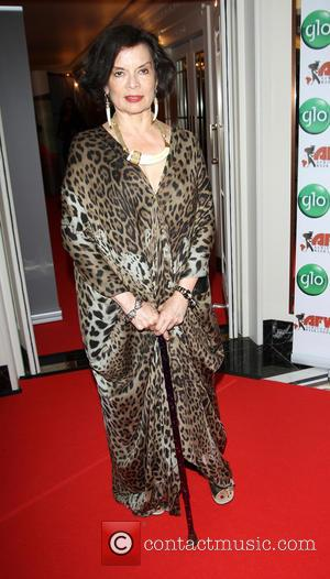 Bianca Jagger - Celebrities attend Africa Fashion Week London 2013 Banquet at The Dorchester - London, United Kingdom - Sunday...