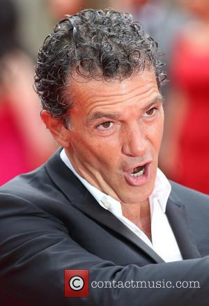 Antonio Banderas - 'The Expendables 3' world film premiere held at Odeon cinema - Arrivals - London, United Kingdom -...