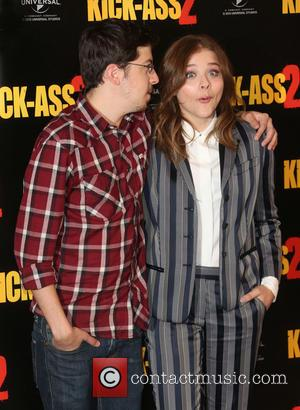 Chloe Moretz and Christopher Mintz-plasse