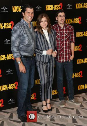 Jeff Wadlow, Chloe Moretz and Christopher Mintz-plasse