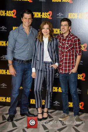 Jeff Wadlow, Chloe Grace Moretz and Christopher Mintz Plasse