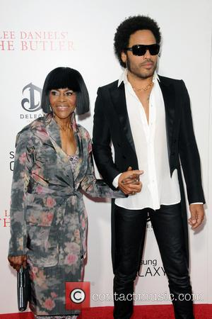 Cicely Tyson and Lenny Kravitz