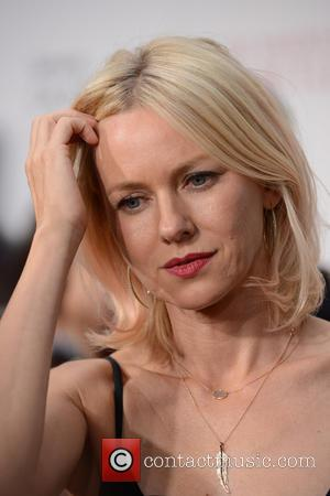 Naomi Watts Wedged Cocktail Stick In Her Mouth To Perfect Diana Look