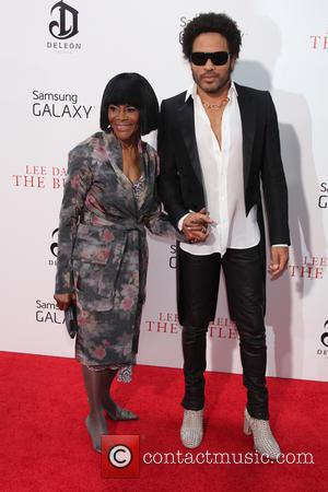 Lenny Kravitz and Cicely Tyson