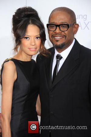 Forrest Whitaker and And Wife Keisha