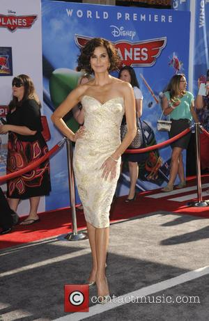 Teri Hatcher - Los Angeles premiere of Disney's 'Planes' held at the El Capitan Theatre - Los Angeles, CA, United...