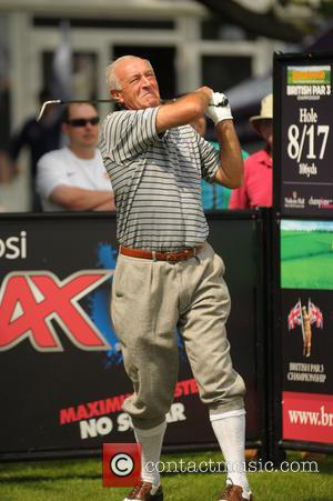 Len Goodman - Celebrities and Stars attending the British Par 3 Pro Am Celebrity Golf - Solihull, United Kingdom -...
