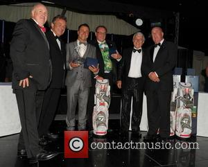 Roger Hurcombe, Tony Jacklin CBE, Craig Philips, Ian Halliwell, Rick Cressman and Steven Skitt - Celebrities and Stars attending the...