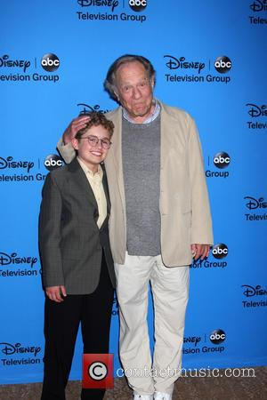 Sean Giambrone and George Segal