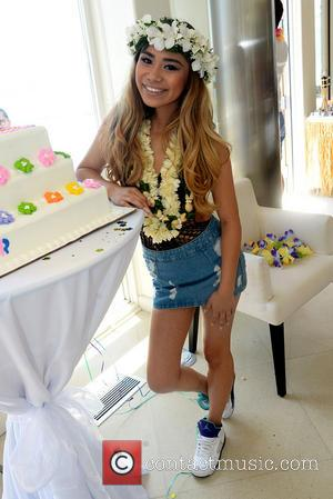 Jessica Sanchez - Jessica Sanchez 18th Birthday Party at The Revolve Beach House - Los Angeles, CA, United States -...