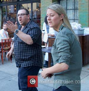 Nick Frost - Nick Frost seen in New York City - New York City, NY, United States - Monday 5th...