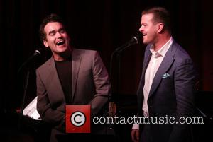Brian d'Arcy James and Clarke Thorell - Clarke Thorell performing at his 'Songs I Wish I'd Written' concert at Birdland...