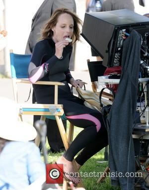 Helen Hunt - Actress Helen Hunt was spotted with Luke Wilson filming their new movie called