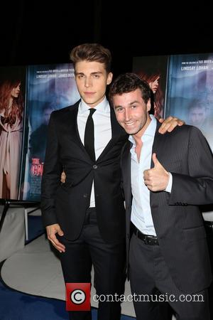 Nolan Gerard Funk and James Deen - Celebrities attend IFC Film's THE CANYONS LA Premiere at The Standard Hotel. -...