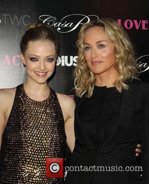Amanda Seyfried and Sharon Stone