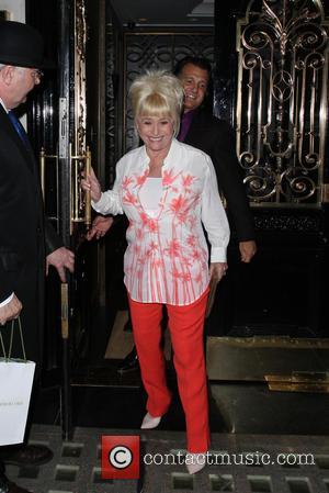 Barbara Windsor - Barbara Windsor celebrates her 76th birthday at Scott's restaurant in Mayfair. Barbara was very amused to have...