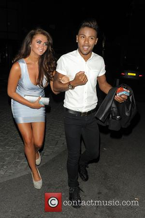 Chelsee Healey and Marcus Collins