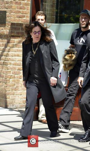 Ozzy Osbourne - Sharon and Ozzy Osbourne seen leaving their Manhattan hotel - Manhattan, NY, United States - Wednesday 7th...