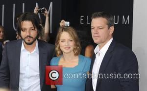 Diego Luna, Jodie Foster and Matt Demon