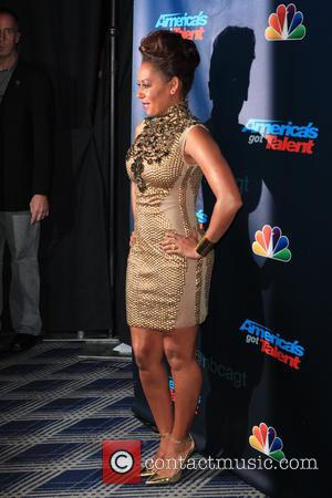 Melanie Brown - America's Got Talent at Radio City Music Hall  - Week 3 - New York City, NY,...