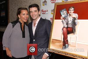 Vanessa Williams and Michael Urie - 'Buyer and Cellar' star Michael Urie celebrates his birthday with a portrait unveiling at...