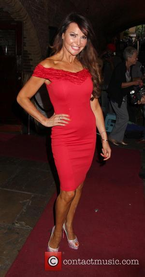 Lizzie Cundy - WAG! The Musical - VIP night at the Charing Cross Theatre - London, United Kingdom - Wednesday...