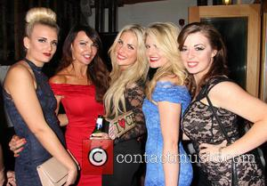 Lizzie Cundy, Angela Russell, Pippa Fulton, Lizzy Connolly and Rachel Rawlinson