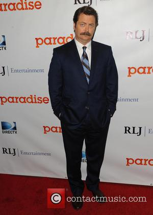 Nick Offerman - Diablo Codys Directorial Debut Film PARADISE - LA, CA, United States - Wednesday 7th August 2013