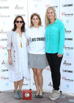 Natalie Imbruglia, Holly Branson and Princess Beatrice