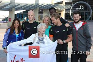Holly Branson, Sam Branson, Jack Whitehall, Eve Huntley Flindt and Eve Branson