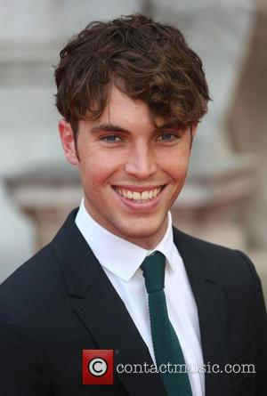 Tom Hughes - 'About Time' UK premiere held at Somerset House - Arrivals - London, United Kingdom - Thursday 8th...