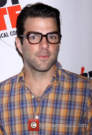 Zachary Quinto - Broadway opening night of 'First Date' held at the Longacre Theatre - Arrivals - New York, NY,...