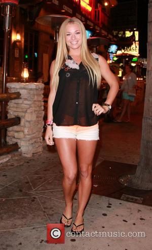 Nikki Leigh - Playboy Playmate Nikki Leigh outside Saddle Ranch on Sunset Boulevard - Los Angeles, CA, United States -...