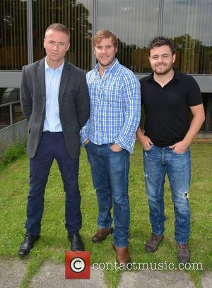 Jason Barry, Peter Coonan and Laurence Kinlan