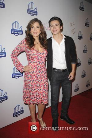 Maria Canals Barrera and Jake T. Austin